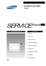 Buy Samsung MW5580W XAC31001101 Manual by download #164742