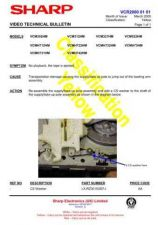 Buy Sharp VCM41HM-002 Service Schematics by download #158976