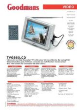 Buy GOODMANS TVG560LCD by download #125652