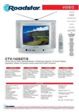 Buy ROADSTAR CTV-1426XT S by download #128003