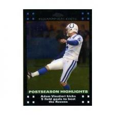 Buy 2007 Topps Chrome #TC165 Adam Vinatieri