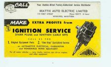Buy CAN Winnipeg Ink Blotter Advertising Beattie Auto Electric Limited, 170 Fo~23