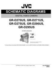 Buy JVC GR-D275US sch Service Schematics by download #155586