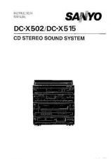 Buy Sanyo DCX 39 Operating Guide by download #169221