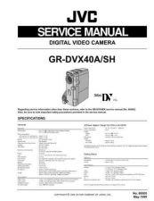 Buy GR-DVX40A, DVX40SH 86505 Service Schematics by download #130366