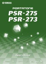 Buy Yamaha PSR275E Operating Guide by download Mauritron #204114