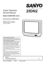 Buy Sanyo 25DN2-01 Manual by download #172630