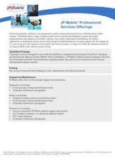 Buy PALM SERVICES DATASHEET by download #127345