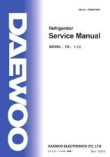 Buy Daewoo FRM0870000 Service Manual by download #160670