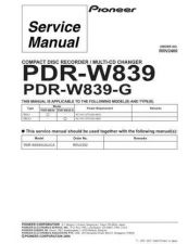 Buy PIONEER R2400 Service Data by download #153318