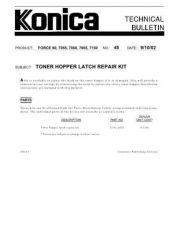 Buy Konica 48 Service Schematics by download #135510