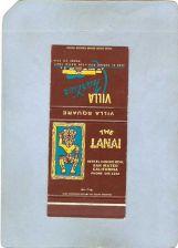 Buy CA San Mateo Matchcover Tiki The Lanai Villa Square Villa Chartier~55