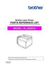 Buy BROTHER HL-2460(N) SERVICE MANUAL Service Manual by download #146286