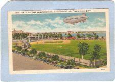 Buy FL St Petersburg Sport Baseball The Good Year Blimp Over Waterfront Park S~122