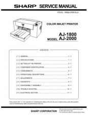 Buy Sharp 265 AJ2000SME1 Manual by download #177994