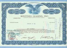 Buy DE na Stock Certificate Company: Sentinel Leasing, Inc. ~77