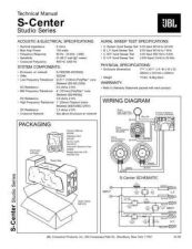Buy INFINITY S CENTER STUDIO SERIES TS Service Manual by download #151440