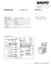 Buy Sanyo HEC-904 01 Manual by download #174413
