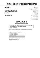 Buy Sony MVC-Cd250_IM Service Manual by download Mauritron #194081
