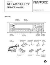 Buy KENWOOD KDC-V6017,V6090R RY,V7018R Service Manual by download #148181