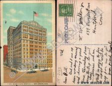 Buy CT New London Postcard The Mohican Hotel Street Scene Intersection w/Old C~2120