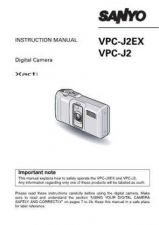 Buy Sanyo VPC-C5E 2 Operating Guide by download #169703