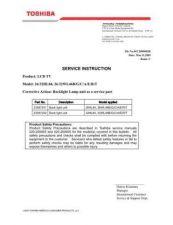Buy TOSHIBA 26 32HL84 SVI Service Schematics by download #159765