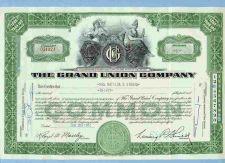 Buy DE na Stock Certificate Company: Grand Union Company ~41