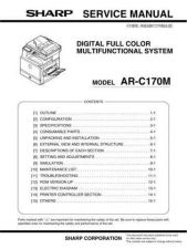 Buy Sharp ARC150-160-250 SM GB Manual by download #170130
