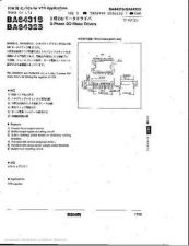 Buy INTEGRATED CIRCUIT DATA BA6432SJ Manual by download Mauritron #186649