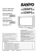 Buy Sanyo CE28WP5-B-01-02-03 Manual by download #173223