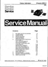 Buy MODEL GR22AAC Service Information by download #124155
