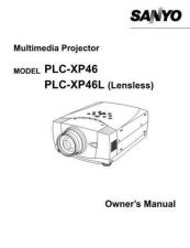 Buy Sanyo PLC-XF60 Manual by download #174891