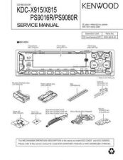 Buy KENWOOD KDC-X717 Service Manual by download #148186