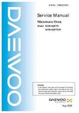Buy Daewoo Model KOR-6N1H5P Manual by download #168655