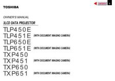 Buy Toshiba 65h85c om f Manual by download #171696