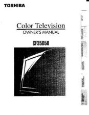 Buy Toshiba cn27c90 2 Manual by download #171930