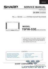 Buy Sharp 70FW53E SM GB Manual.pdf_page_1 by download #178834
