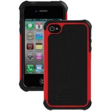 Buy Ballistic Iphone 4 And 4s Sg Case (black Silicone And Black Tpu And Red Pc)