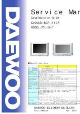 Buy DAEWOO SM DTL-29U7 (E) Service Data by download #146635