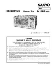 Buy Sanyo EM-SS552 Manual by download #174386