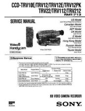 Buy SONY CCD-TRV208E Service Manual by download #166511
