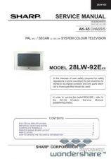 Buy Sharp 28LW92E SM GB(2) Manual.pdf_page_1 by download #178145