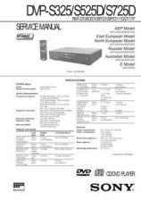 Buy MODEL DVP-S330 Service Information by download #124093