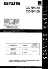 Buy AIWA CX-NV750 NV400 TECHNICAL INFO by download #125263