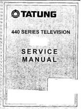 Buy MODEL TATUNG 440 Service Information by download #124630