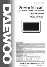 Buy DAEWOO SM DSC-3270E (E) Service Data by download #146591