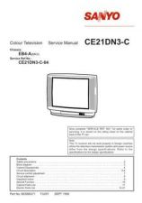 Buy SANYO SKSM0271 Service Data by download #133558