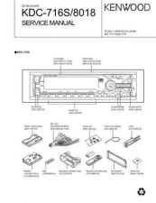 Buy KENWOOD KDC-715S 8015 8016 Technical Info by download #151877
