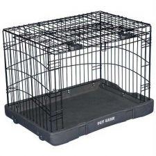 Buy Pet Gear Travel Lite Steel Dog Crate Medium Black